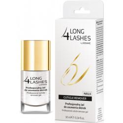 Long4Lashes - Nails, profesjonalny żel do usuwania skórek, poj. 10 ml
