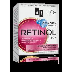 AA OXYGEN INFUSION - RETINOL PRO-A, intensywne serum wygładzające 50+, poj. 50 ml