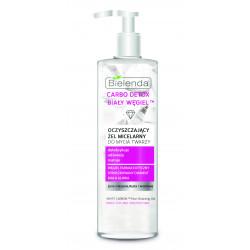 Bielenda CARBO DETOX BIAŁY WĘGIEL™ - żel micelarny do mycia twarzy, poj. 195 g
