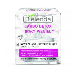 Bielenda CARBO DETOX BIAŁY WĘGIEL™ - nawilżająco – detoksykujący krem do twarzy, poj. 50 ml