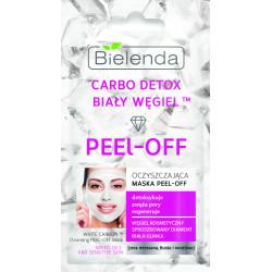 Bielenda CARBO DETOX BIAŁY WĘGIEL™ - oczyszczająca maska PEEL-OFF, poj. 2 x 5 g