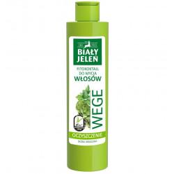 Biały Jeleń FITOkoktajl do mycia włosów - OCZYSZCZENIE, pietruszka i karczoch WEGE, poj. 250 ml