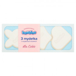 Bambino - mydełka w wyjątkowych kształtach, NIEBIESKIE, poj. 3 szt. x 50 g