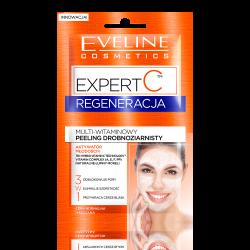 Eveline Expert C - REGENERACJA, multi-witaminowy peeling drobnoziarnisty 3w1, poj. 2 x 5 ml