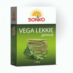 Sonko - pieczywo Vega Lekkie, jarmuż, masa netto: 120 g