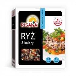Risana - ryż 3 kolory, waga netto: 200 g