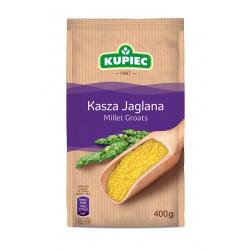 Kupiec - kasza jaglana (folia), masa netto: 400 g