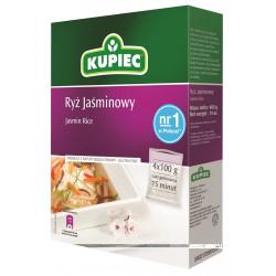 Kupiec - ryż jaśminowy (kartonik), masa netto 4 x 100 g