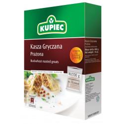 Kupiec - kasza gryczana (kartonik), masa netto: 4 x 100 g