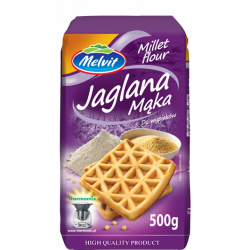 Melvit - jaglana mąka, masa netto: 500 g