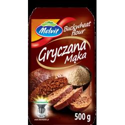 Melvit - gryczana mąka, masa netto: 500 g