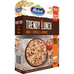 Melvit -TRENDY LUNCH orkisz, vermicelli, pomidory, masa netto: 4 x 100 g