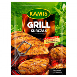 Kamis - Grill Kurczak, mieszanka przyprawowa, masa netto: 18 g