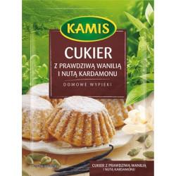 Kamis - cukier z prawdziwą wanilią i nutą kardamonu, masa netto: 20 g