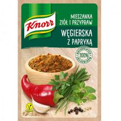 Knorr - Mieszanka ziół i przypraw, Węgierska z papryką, masa netto: 13 g