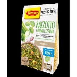 Winiary - Kaszotto cukinia i szpinak, bulgur w sosie z zielonych warzyw, masa netto: 230 g