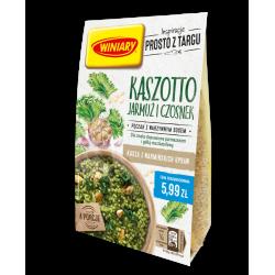 Winiary - Kaszotto jarmuż i czosnek, pęczak z warzywnym sosem, masa netto: 233 g