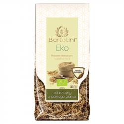 Bartolini - Eko makaron orkiszowy z pełnego ziarna, Świderek nr 2, masa netto: 400 g