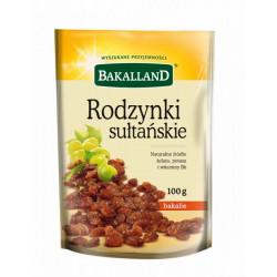 Bakalland - rodzynki sułtańskie, masa netto: 100 g