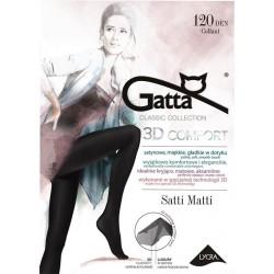 SATTI MATTI 120 – Rajstopy damskie 3D 120 DEN