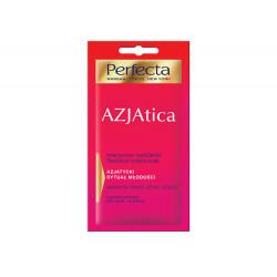 Perfecta Azjatica - maska na twarz, szyję i dekolt, Intensywne nawilżenie, Redukcja zmarszczek, poj. 8 ml