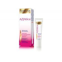 Perfecta Azjatica White - krem pod oczy i na powieki na dzień i na noc, Redukcja cieni Silne nawilżenie, poj. 15 ml