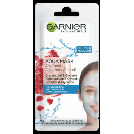 Garnier Skin Active - Aqua Mask, nawilżająca maseczka do skóry odwodnionej, poj. 8 ml