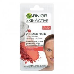 Garnier Skin Active - Volcano Mask, maseczka zmniejszająca widoczność porów ze skałą wulkaniczną, poj. 8 ml
