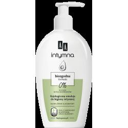 AA INTYMNA - biozgodna emulsja do higieny intymnej, Nawilżenie & Komfort z biozgodnym olejem z awokado, poj. 300 ml