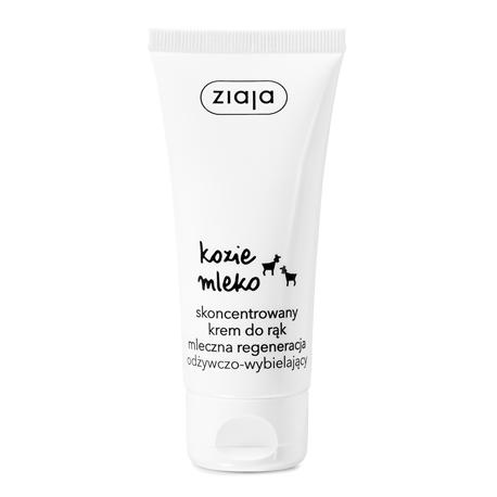 Ziaja Kozie Mleko - skoncentrowany krem do rąk odżywczo-wybielający, poj. 50 ml