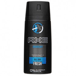 AXE - ANARCHY, All Day Fresh, dezodorant w sprayu dla mężczyzn, poj. 150 ml