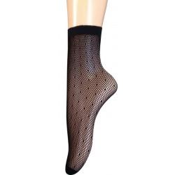 Gatta Socks w.21 - skarpetki żakardowe fishnet