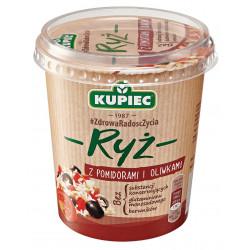 Kupiec Danie Lunchowe - ryż z pomidorami i oliwkami, masa netto: 70 g