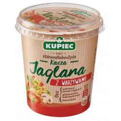 Kupiec Danie Lunchowe - kasza jaglana z warzywami, masa netto: 70 g