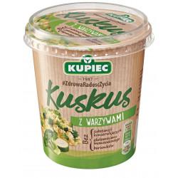Kupiec Danie Lunchowe - kuskus z warzywami, masa netto: 70 g