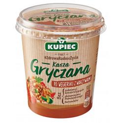 Kupiec Danie Lunchowe - kasza gryczana po węgiersku z warzywami, masa netto: 70 g