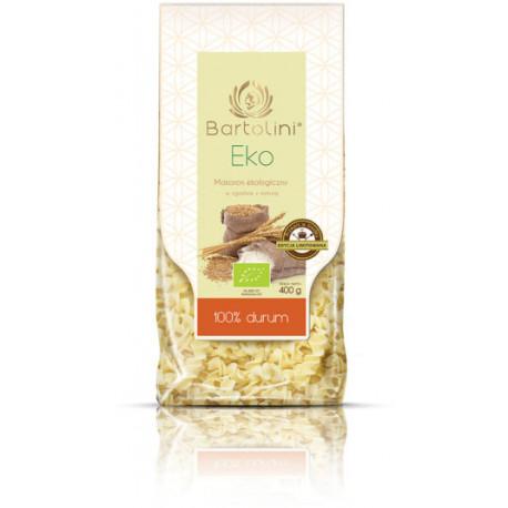 Bartolini - Eko makaron z mąki durum 100%, Świderek nr 3, masa netto: 400 g