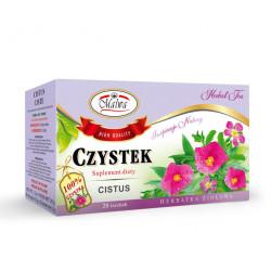Malwa - Czystek, herbatka ziołowa, suplement diety, poj. 20 torebek x 1,5 g
