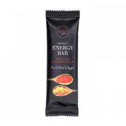 Foods by Ann, Pocket Energy Bar - Marchew & Pomarańcza, waga: 35 g