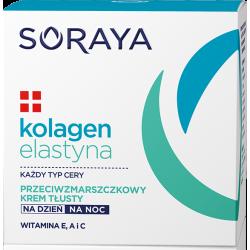 Kolagenowa Pielęgnacja - krem przeciwzmarszczkowy, tłusty, poj. 50 ml.