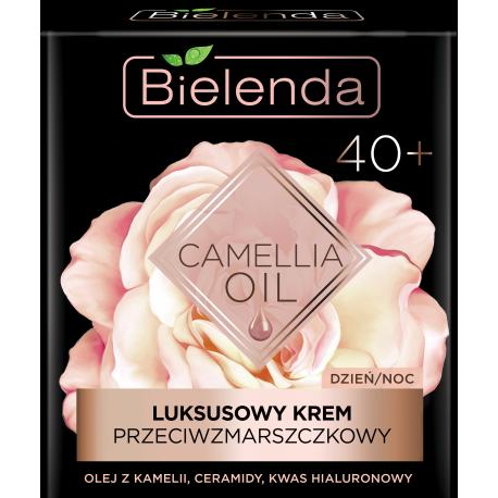 Bielenda CAMELLIA OIL - luksusowy krem przeciwzmarszczkowy 40+ dzień/ noc, poj. 50 ml