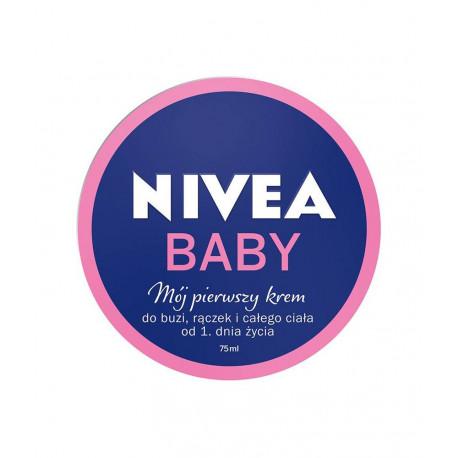 Nivea Baby - mój pierwszy krem, do buzi, rączek i całego ciała od 1 dnia życia, poj. 75 ml