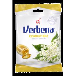 Verbena - cukierki ziołowe, czarny bez, 60 g