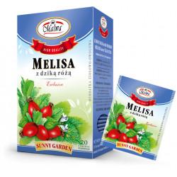 Malwa - melisa z dziką różą, poj. 20 torebek x 1,5 g