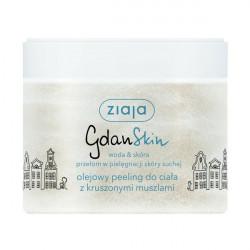 Ziaja GdanSkin - olejowy peeling do ciała z kruszonymi muszlami, poj. 300 ml