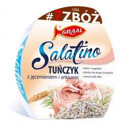 Graal Salatino - 7 Zbóż, tuńczyk z jęczmieniem i orkiszem, masa netto: 150 g