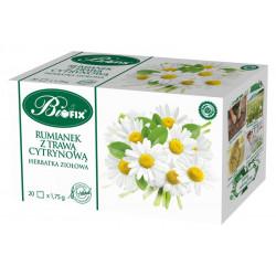 Bi fix Rumianek z trawą cytrynową - herbatka ziołowa, poj. 20 saszetek x 1,75 g