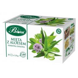 Bi fix Mięta z aloesem - herbatka ziołowa, poj. 20 saszetek x 1,75 g