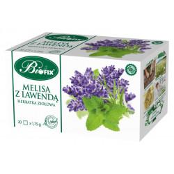 Bi fix Melisa z lawendą - herbatka ziołowa, poj. 20 saszetek x 1,75 g