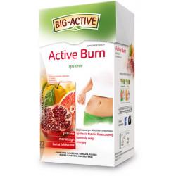 Active Burn - Spalanie, herbata funkcjonalna ziołowo - owocowa, suplement diety, poj. 20 saszetek x 2 g
